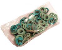 "1/2"" FIBRE WASHER PACK OF 100 BRAND NEW"